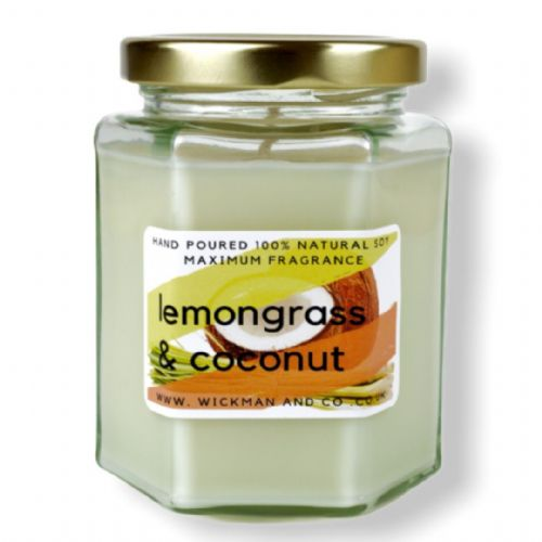 Lemongrass & Coconut Soy Wax Candle